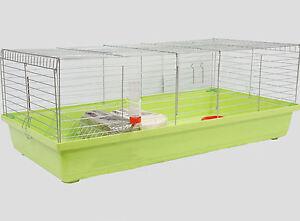 XXL 1,20 m Hasenkäfig Nagerkäfig Kaninchenkäfig Käfig Stall Meerschweinchen