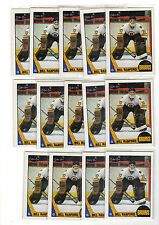 1X BILL RANFORD 1987-88 OPC #13 RC Rookie NM-NMMT O Pee Chee Bruins Lots Availa