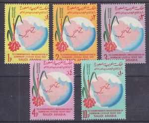 Saudi Arabia Sc 484-488 MNH. 1968 Trans-Saudi Arabia Highway cplt VF