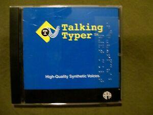 Talking Typer 1.13.4 ( Windows, CD-ROM) APH for the Blind