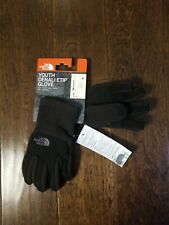 New Youth THE NORTH FACE Black/Brown Denali ETIP Glove Size S