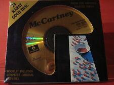 "DCC GZS-1029 PAUL McCARTNEY ""McCARTNEY"" (24 KT GOLD COMPACT DISC/FACTORY SEALED)"