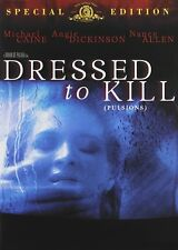 USED  DVD - DRESSED TO KILL - BRIAN DePALMA - Michael Caine, Angie Dickinson,