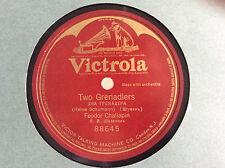 "FEODOR  CHALIAPIN (1873-1938)  ""Two Grenadiers""(Robert Schumann) 1921"