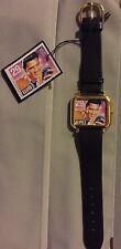 "ELVIS PRESLEY WATCH ""29 CENT Stamp"" w/ Leather Strap!"