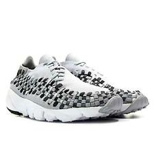 Men's Nike Air Footscape Woven Trainers Running Shoes Grey