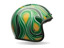 Bell Custom 500 Chemical Candy Green se * taille L = 59-60 - MOTO CASQUE casques jets