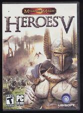 Heroes V 5 Might & Magic Video Game Windows PC CD-ROM 2006