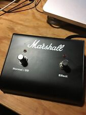 MARSHALL channel/OD   effects pedal switch excellent condition
