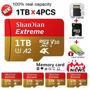 ShanDian High Speed 1TB USB Drive Micro SD Card Class 10 TF Memory Card