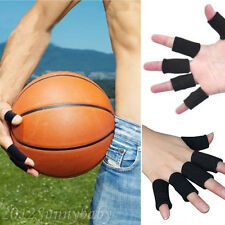10Pcs Finger Sleeve Support Protection For Outdoor Sport Volleyball Basketball