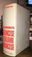 VOCABOLARIO FRANCESE ITALIANO ITALIANO FRANCESE - EDWIN ROSTAN - MALIPIERO