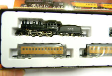 81419 Marklin miniclub Z Scale CASEY JONES Illinois Central RR Trainset USA NEU