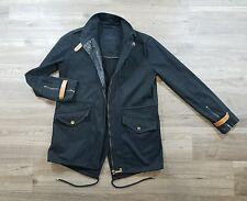 Lacoste Coat Womens 34 Military Black Field Safari $395 A66