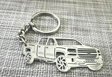 Chevrolet silverado, custom keychain by your picture, custom gift.