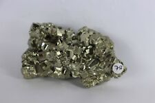 78) Pyrite Crystal Cube Formation Fools Gold Iron Great Gift - High Grade PERU