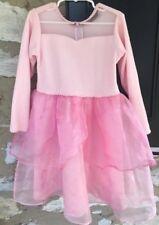 Gymboree Pink Ballerina Ballet Dress Costume Sz 4/5 Warm Velour Winter Dressup