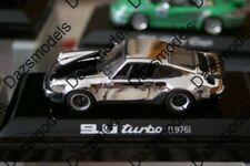 Minichamps Porsche 911 Turbo 1976 Chrome Dealer Box WAP02060416