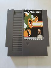 Extra Mario Bros NES Reproduction Hack Game Cartridge Nintendo Brothers Xtra