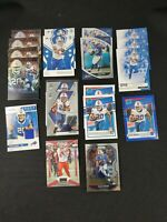 Zach Moss Buffalo Bills 19 Total Rookie Card Lot!!  Prizm, Mosaic and More...