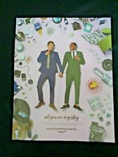 Print Ad Gay Wedding Amazon Gift Registry Asian African American Homosexual Pink
