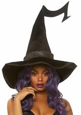 Leg Avenue Bewitched Velvet Witch Hat Adult Halloween Costume Accessory A2874