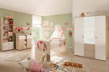 Babyzimmer Komplett Set Kinderzimmer Komplettset Babymöbel WIKI 2 Eiche Sonoma