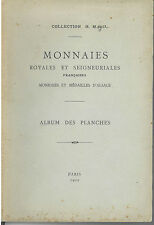 * Monnaies royales et seigneuriales, Alsace, collection H Meyer, planches, 1902