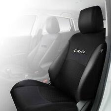 Genuine Mazda CX-3 DK Front Seat Cover x1 Black Single Accessory Part DK12ACSCF