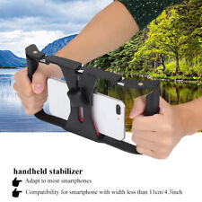 """Handheld Phone Camera Stabilizer Holder Frame Video Recording for 4~7""""Cell Phone"""