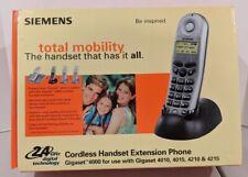 Siemens 2.4GHz Cordless Handset Extension Phone Gigaset 4000