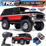 Traxxas 82046-4 TRX-4 Trail Crawler Truck Bronco Ranger XLT RTR Red w/ Radio
