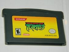 Teenage Mutant Ninja Turtles for Game Boy Advance GBA TMNT