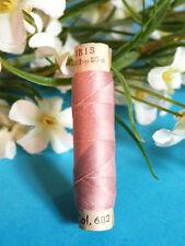 "460B/ RAVISSANTE ANCIENNE BOBINE FIL DE SOIE ZWICKY "" ROSE SURANNÉ "" N° 682"