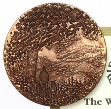 Millennium Medal 2000 The Westcountry ~ Bronze, Cased ~ Bigbury Mint