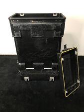 Hardigg Pelican MAC Rack Shock Mount Black Composite Case 4U Rack mount