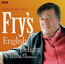 FRY'S ENGLISH DELIGHT - WORD GAMES - STEPHEN FRY - NEW/SEALED BBC AUDIO BOOK