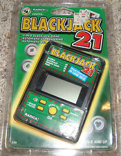 Blackjack 21 Electronic Handheld Travel Game New In The Package Awesome