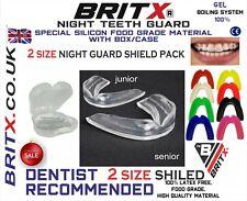 BRITX 2 Dental Mouth Guards for Grinding Teeth, Bruxism teeth Night Guard sleep