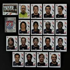 Panini FIFA World Cup Germany 2006 Complete Team U.S.A. + Foil Badge