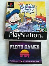 Notice de Les Razmoket à Paris Le Film pour Sony Playstation 1 PS1 - Floto Games