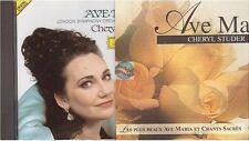 CHERYL STUDER ave maria CD ALBUM chants sacres deutsche grammophon