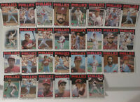 1986 Topps Philadelphia Phillies Team Set of 30 Baseball Cards