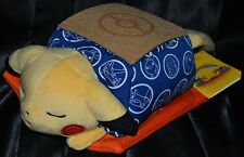 "13"" Kotatsu Pikachu Sleeping Standard Poke Plush Pokemon Center Dolls Toys # 25"