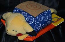 "13"" Kotatsu Pikachu Sleeping Standard Poke Plush Pokemon Center Dolls Toys # 25"