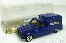 NOREV JET-CAR 1/43 - 866 RENAULT 4 POLICE GENDAMERIE - DIECAST MODEL IN BLUE