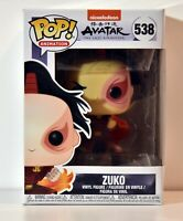 Funko pop! Animation Avatar The last airbender Zuko #538 vinyl figure