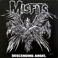 "Misfits ‎- Descending Angel 12"" LP - Colored Vinyl - Black with Splatter"