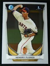 2014 Bowman Chrome Prospects #BCP82 Kendry Flores - NM-MT