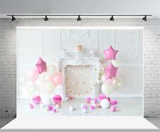 7x5FT Child Birthday Theme Vinyl Photography Background Props Studio